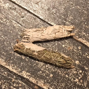 Rosemary Sage Smudge Stick 6""