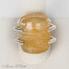 Rutilated Quartz Sterling Ring