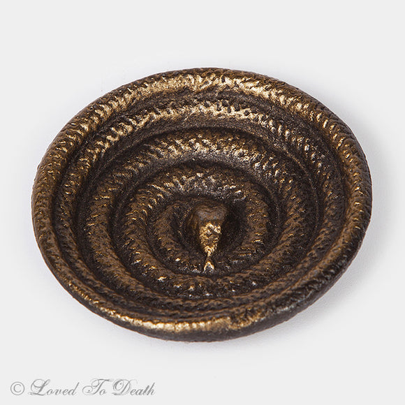 Coiled Snake Dish