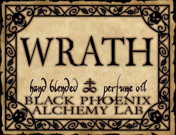 { Wrath } Black Phoenix Alchemy Lab Fragrance