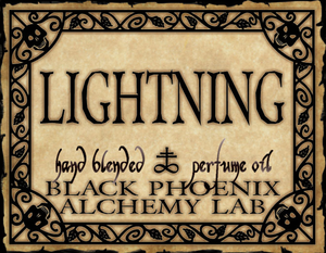 { Lightning } Black Phoenix Alchemy Lab Fragrance
