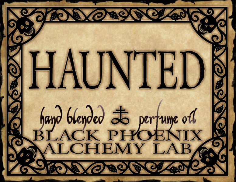 { Haunted } Black Phoenix Alchemy Lab Fragrance