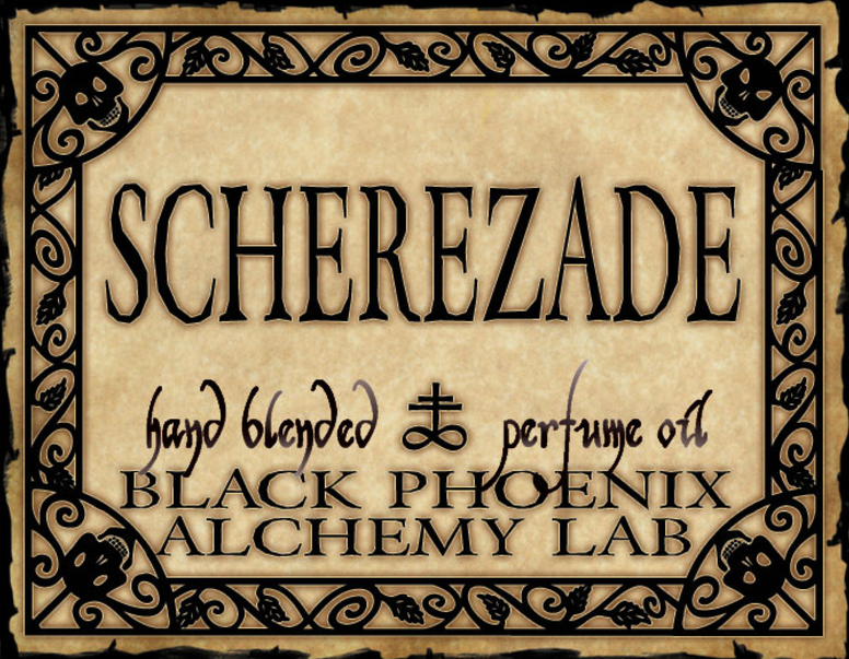 { Scherezade } Black Phoenix Alchemy Lab Fragrance