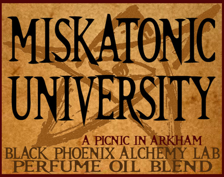 { Miskatonic University } Black Phoenix Alchemy Lab Fragrance