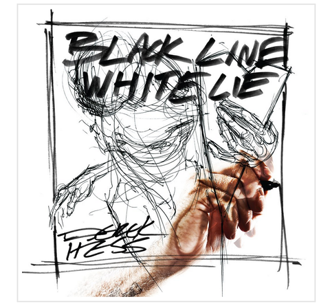 Derek Hess Black Line White Lie