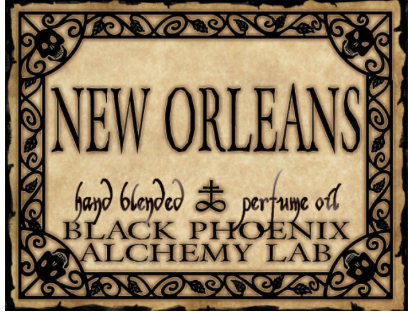 { New Orleans } Black Phoenix Alchemy Lab Fragrance
