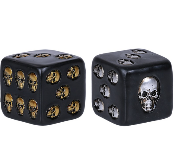 Pair of Oversized Skull Dice