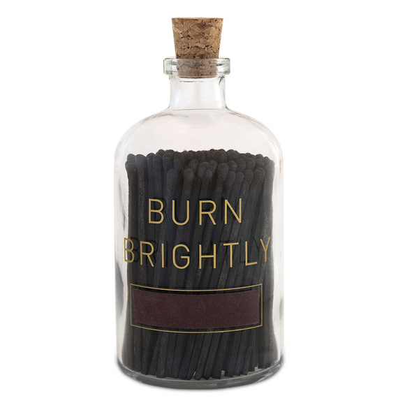 Burn Brightly Large Match Jar