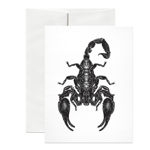 Emperor Scorpion Black Foil Gift Card