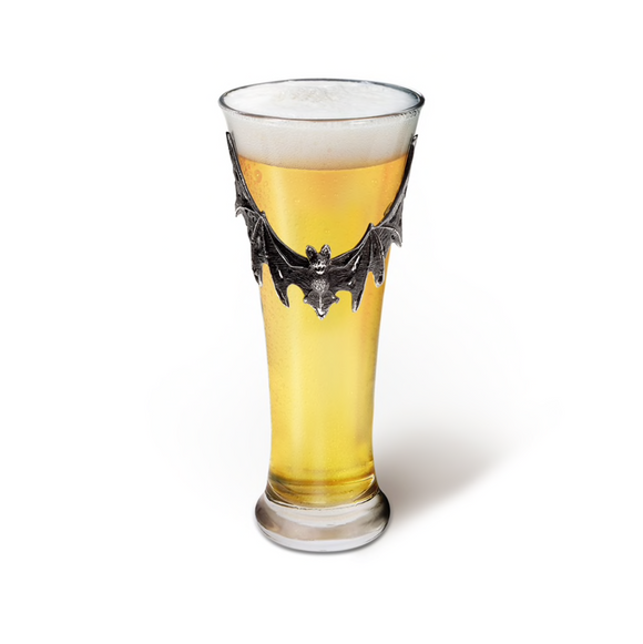 Pewter Bat Glass