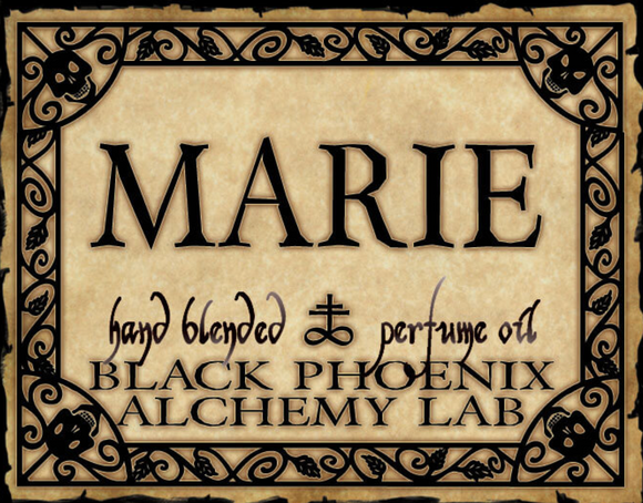 Marie Black Phoenix Alchemy Lab Perfume Oil