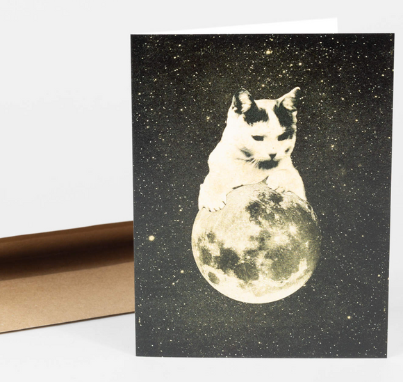 Cat Moon Gift Card