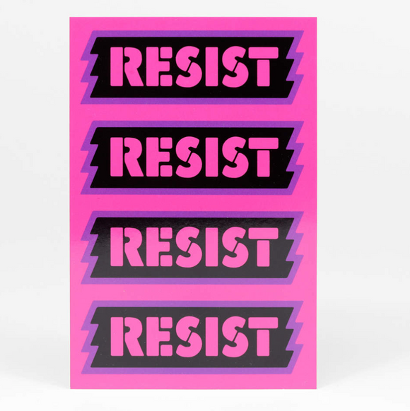 RESIST Post Card