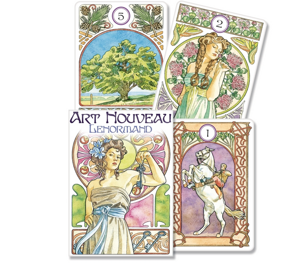 Art Nouveau Lenormand Oracle Deck