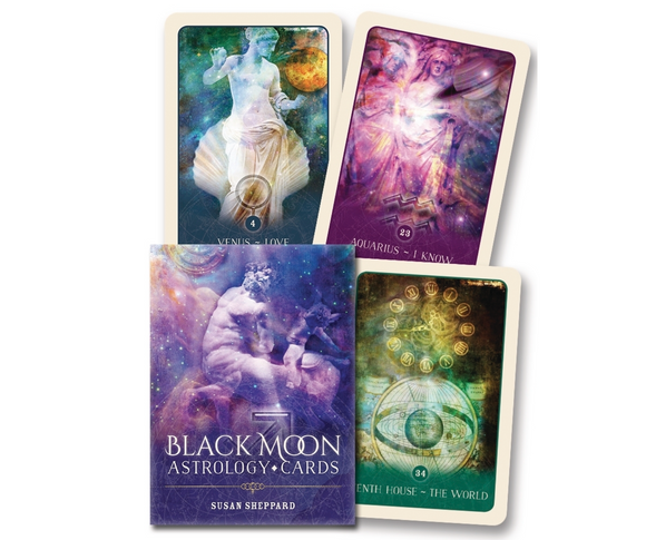Black Moon Astrology Deck