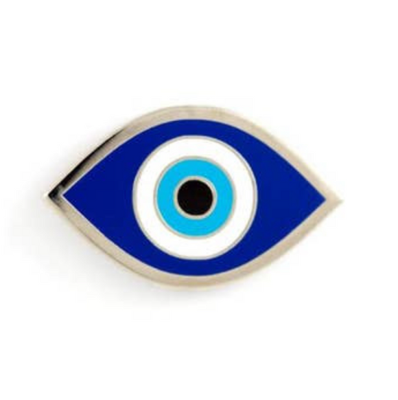Evil Eye Enamel Pin