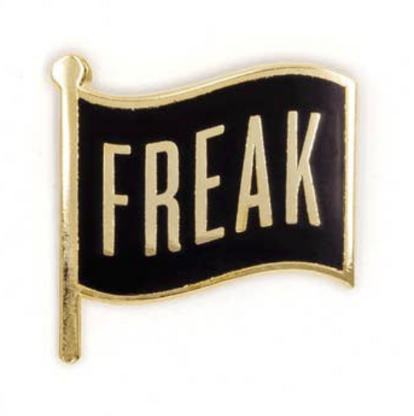 Freak Flag Enamel Pin