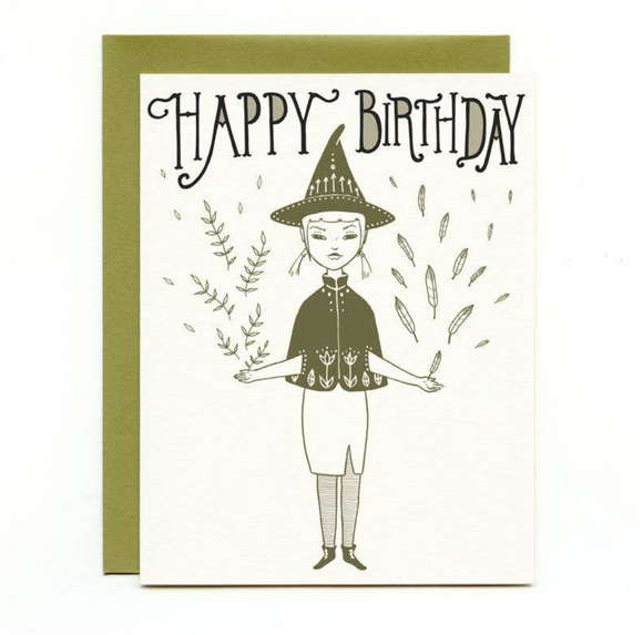 Happy Birthday Little Witch Gift Card