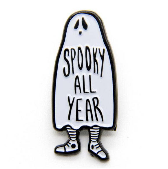 Spooky All Year Enamel Pin