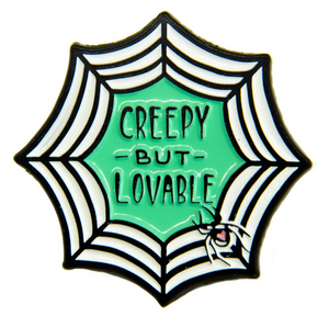 Creepy But Lovable Enamel Pin