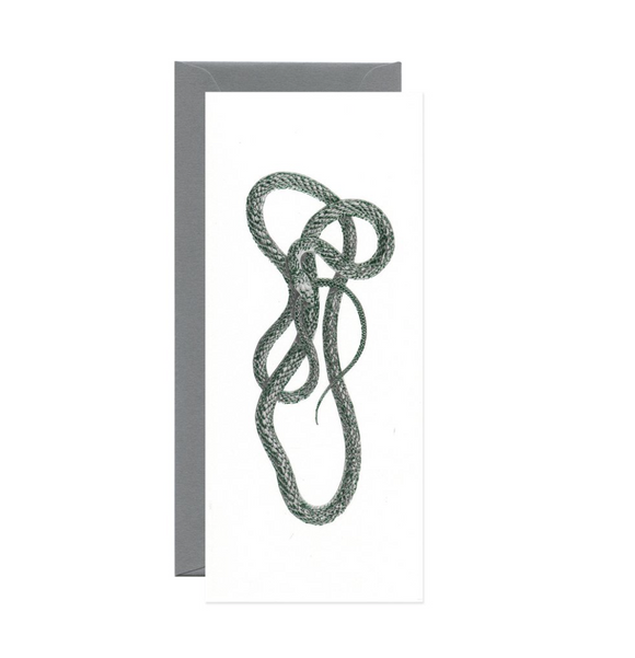 Green Mamba Snake Green Foil Long Gift Card