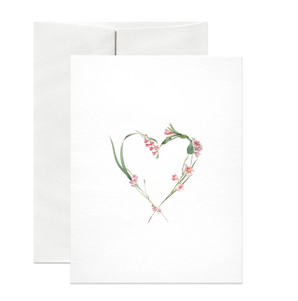 Rose Heart Gift Card