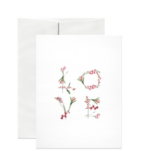 Floral Love Gift Card