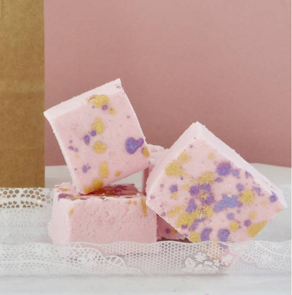 Unicorn Lavender Honey Bath Marshmallows