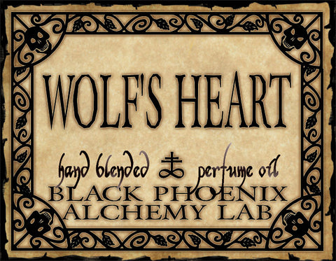 { Wolf's Heart } Black Phoenix Alchemy Lab Fragrance