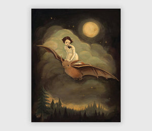 Flying By Night Emily Winfield Martin Print
