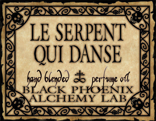 { Le Serpent Qui Danse } Black Phoenix Alchemy Lab Fragrance