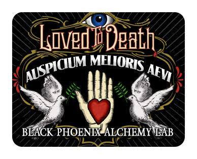 { AUSPICIUM MELIORIS AEVI } Loved To Death Exclusive Black Phoenix Alchemy Lab Scent