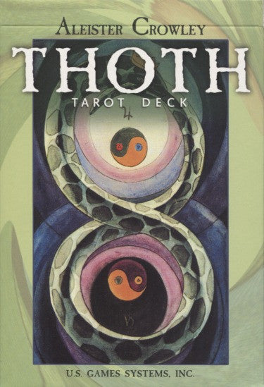 Thoth Crowley Tarot Deck Cards