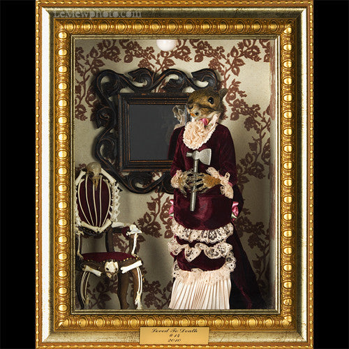 Edie Borden Taxidermy Diorama Shadowbox *SOLD*