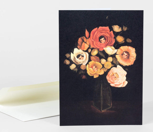 Still Life With Flowers Gift Card