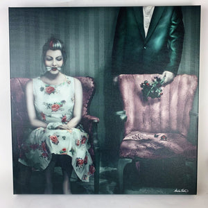 { One Day After } Aunia Kahn Stretched Canvas Print