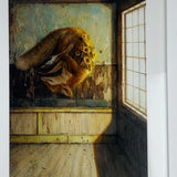 { New Suns } Martin Wittfooth Bamboo Print Signed Numbered and Framed