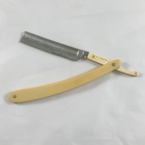 Antique Solingen Celluloid Straight Razor