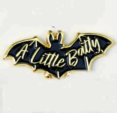 A Little Batty Enamel Pin