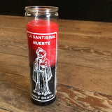 Reversible Holy Death La Santisima 7 Day Candle