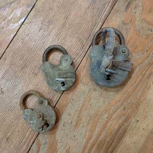 Victorian Locks With Working Key