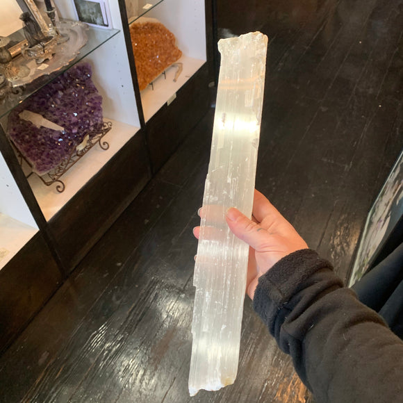Selenite Slab Long