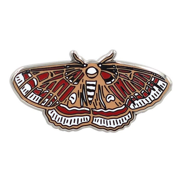 Hawk Moth  Enamel Pin