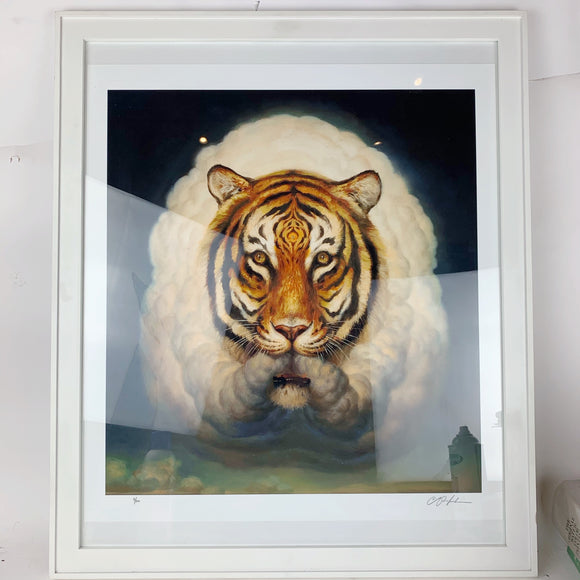 { Atman Mirage } Martin Wittfooth Giclee Print Signed Numbered and Framed