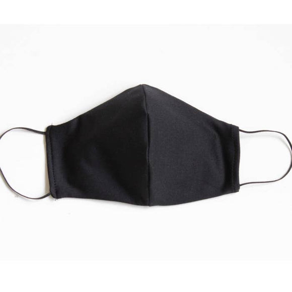 Cotton Face Mask Black