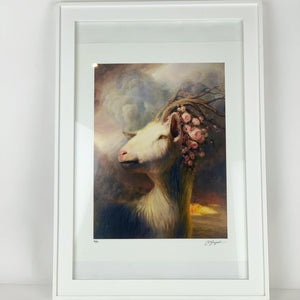 { Devil's Playground } Martin Wittfooth Bamboo Print Signed Numbered and Framed