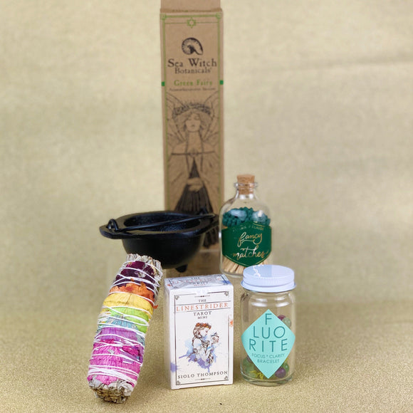 Mini Tarot Deck Incense Box Set