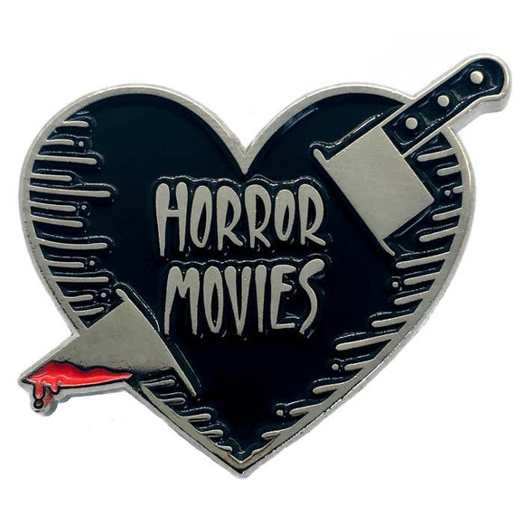 Horror Movies Enamel Pin