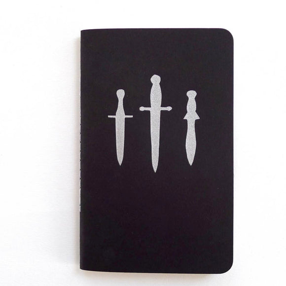 Dagger Trio Pocket Jotter Lined