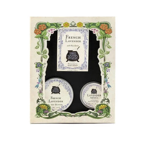 Three Sisters Boxed Gift Trio French Lavender
